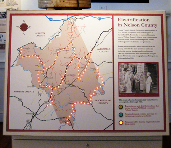 Nelson Cnty Interactive  Map